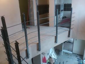 Zábradlí u schodiště 1